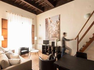 Loft en casa-patio del S.XVII. 3m Catedral.