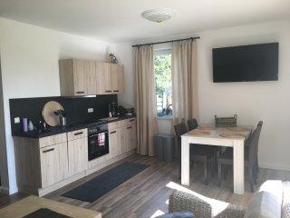 helle und modern eingerichtete Ferienwohnung