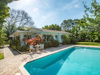 The Egret House | Lovely Pool Home, Large Fenced Yard on Corner Lot, Close to