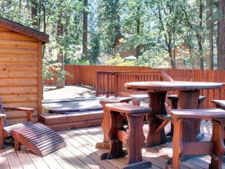 Seating on the Back Deck