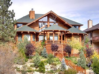 SURROUNDED BY WATER - LAKEFRONT, LOG CABIN ESTATE, WOW FACTOR!!