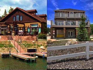 Two Adjacent Lakefront Homes on Beautiful Boulder Bay