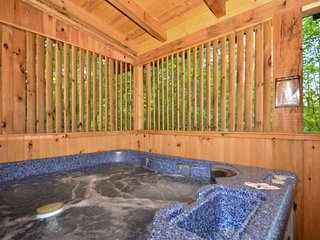 After your long day of adventures, enjoy a little downtime in the hottub