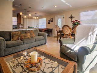 Large open floor plan provides tons of space for hanging out together