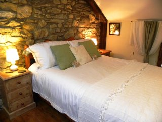 Warm Cozy traditional Welsh Cottage WOLF's CASTLE
