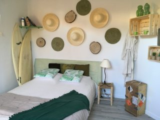 CHAMBRE PRIVEE CHAMBRE D'AMOUR PLAGE A PIED ANGLET BIARRITZ