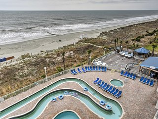 NEW! 2BR North Myrtle Beach Oceanfront Condo!