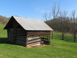 An Old Cabin - waiting for us to renovate....for your next visit!