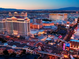 See the famous Vegas Strip with Grand Desert!
