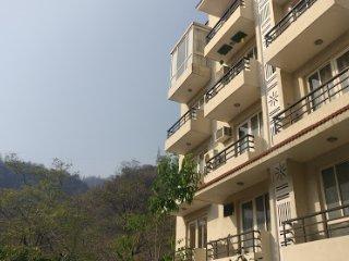 studio apartment beside river ganga