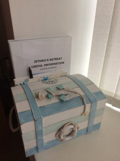 Useful Information and Leaflet Box