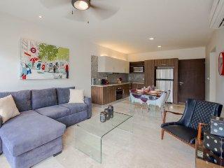 Brand new modern 1 bedroom penthouse in the heart of downtown Playa del Carmen