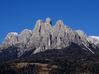Monolocale vista Dolomiti