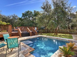 Classic 3BR, 2.5BA 3-Story Austin House w/New Private Pool Near Lake Travis
