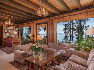 4BR Lakefront Escape w/ Private Beach & Hot Tub - Near Skiing & Bike Path