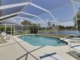 Waterside home w/ private covered pool & patio - golf courses nearby!
