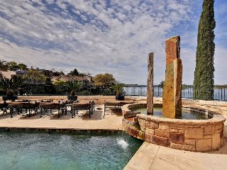 Palatial Villa-Style Lake Travis Waterfront w/ Private Dock, Beautiful Views