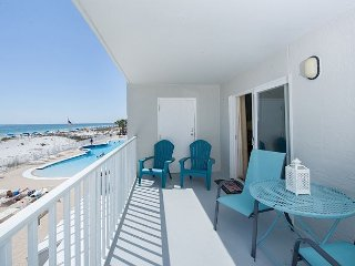 Oceanfront 2BR Gulf Shores Condo w/ Private Balcony - Largest Pool in Region