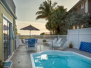 Stunning Fort Myers Beach Home w/ Private Pool, Hot Tub & Ocean Views