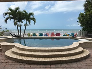 Tropical Dreams by beachhouseFL   New listing!  7 bedroom beachfront home