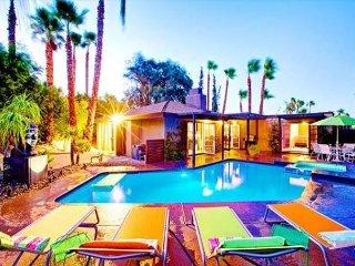 Mountain Views at 3BR, 2BA Desert Oasis Home in Palm Springs w/Private Pool