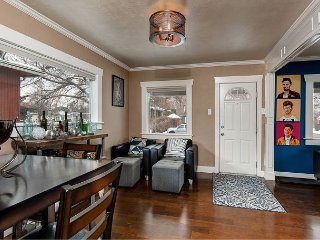 Eclectic Salt Lake City Home for 8 - 10 Minutes from Downtown