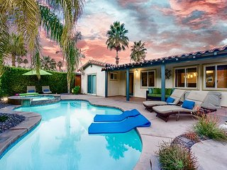 2BR, 2BA Palm Springs Warm Sands House w/2 Master Suites, Pool, & Spa