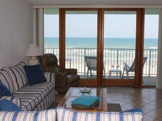 Amazing Views Direct Oceanfront Condo on No Drive Beach, New Smyrna Beach