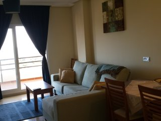Short term rental apartment with views overlooking the sea and Gibraltar