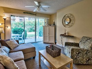 Ground floor condo, walk right out onto the beach! Bonus bunk room and Pool!