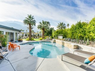 Upscale and Central: 4BR, 3BA Palm Springs House w/Pool, Spa, and Patio