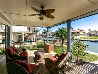 3BR, 2BA Canal Home in City-by-the-Sea w/ Boat Dock & Large Patio