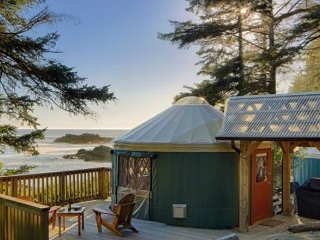 Large Yurt 6 | WYA Point Resort, Ucluelet