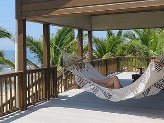 Enjoy the breeze and view on your back deck!