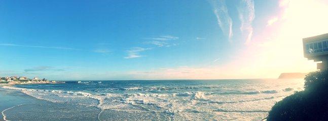 paisaje de la playa.
