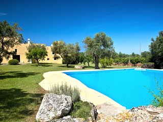 Holiday home in Gallipoli with swimming pool in a typical residence