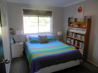 Queen size bed, separate bedroom