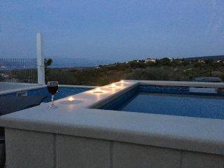 Beautiful villa in Brac with two pools