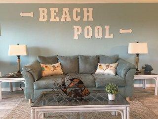 Newly-Renovated 1BR Condo w/ Gulf View & Pool