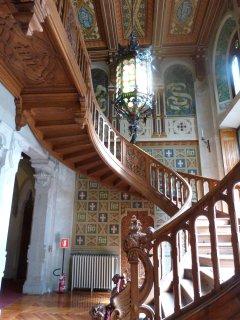 Queen Margherita castle inside
