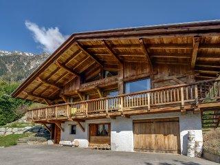 Chalet de standing avec vue sur le Mont Blanc
