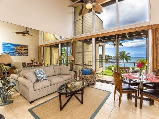 Napili Point C-12... Enjoy Oceanfront, Modern, Upscale Coastal Furnishings!