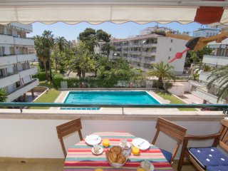 Comfortable central apartment in Sitges.