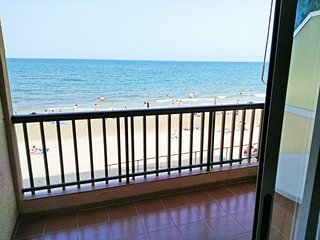 Front of fine sand beach apartment seaview wifi, Torre de la Horadada