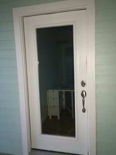 Entrance to your rental