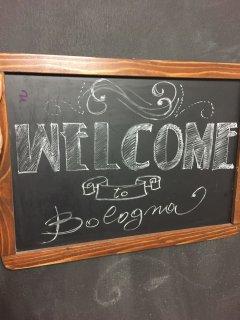Benvenuti a Bologna.