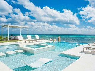 FALL SPECIAL - 6BR Modern Oceanfront Tranquility Cove by Luxury Cayman Villas