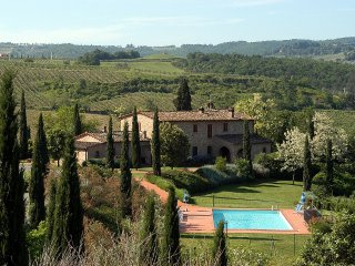 4 bedroom Villa in Montaione, Tuscany, Italy : ref 5228327
