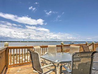 NEW! 6BR Waterfront Gulf Shores House w/ Deck!