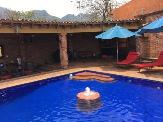 LOFT WITH SWIMMING POOL, TEPOZTLAN TERRACE